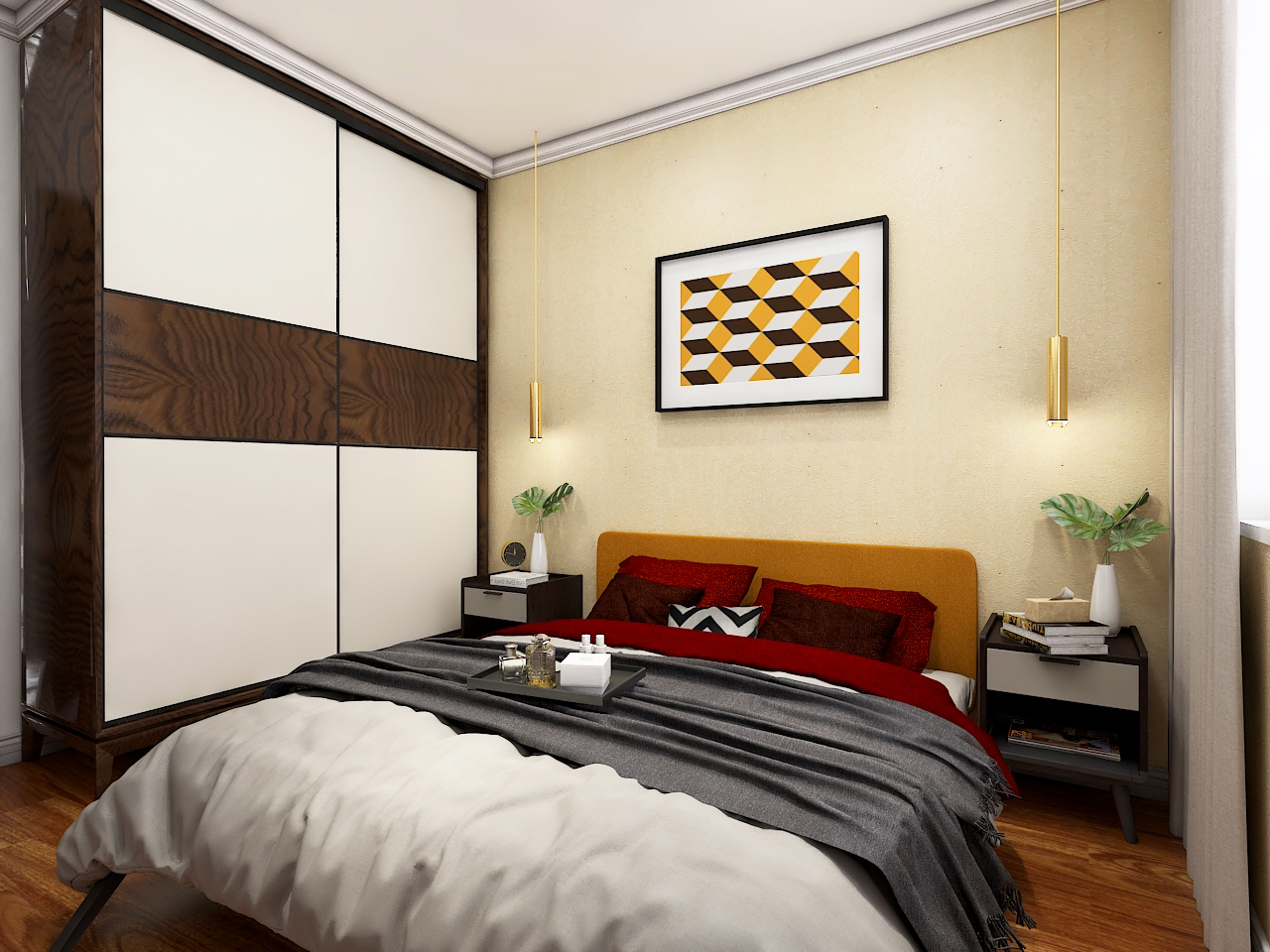 次卧 SECOND BEDROOM